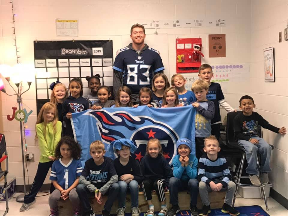 NBE Student Brings TN Titan to School